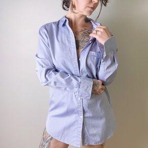 {aritzia} TALULA Boyfriend Fit Button Up Shirt